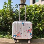 การ์ตูนเด็กชุดเด็กรถเข็นแบบพกพากระเป๋าเดินทางล้อลากสาวCabinกระเป๋าเดินทางแบบลาก18 พกพากระเป๋าเดินทางกระเป๋า