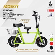 Mobot Official FIIDO Q1 UL2272 Certified Electric Scooter ✅E Scooter FIIDO Escooter ✅LTA Compliant