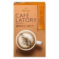 日本AGF Blendy Cafe Latory 濃厚焙茶拿鐵 沖泡飲 6入 P674442