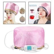 ผู้หญิงเครื่องอบไอน้ำผมหมวกเครื่องอบผ้าความร้อนหมวกรักษา Beauty SPA Nourishing ผมจัดแต่งทรงผมไฟฟ้าผมหมวกทำความร้อน EU Plug