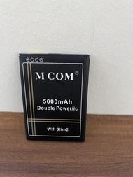MCOM - Bolt Huawei 4G E5577S . e5673 - Baterai Batre Batery Battre Battery Batere Batrai Batrey Modem WIFI Mifi Bolt Huawei Slim 2 / Slim2 / E5577 E5573 XL Go HB434666RBC . M2P E5577S . e5673 Double Power Dabel Pawer