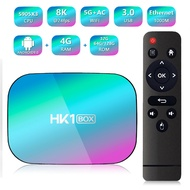 HK1 Box Amlogic S905X3 Smart Android 9.0 TV BOX 4GB RAM 32GB