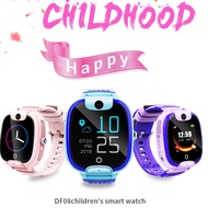 DF08兒童Smartwatch嬰兒SIM卡呼叫跟踪器兒童相機報警器relogios智能兒童