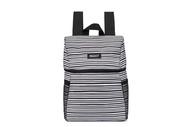 美國【PACKiT】冰酷 野餐冷藏後背包(經典黑白) 保冷袋