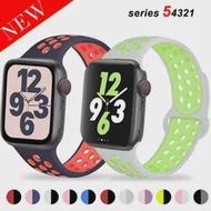 สำหรับ Apple Watch Band 40มม.44มม./42มม./38มม.ซิลิโคนเข็มขัดสร้อยข้อมือกีฬา IWatch Series 5 4 3 2 40 38 42 44มม.