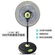 【晶工】18吋超循環涼風扇/立扇/電扇/電風扇/風扇 LV-1868