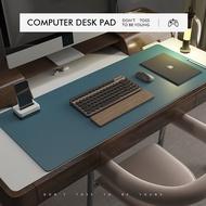 Leather Office Desk Mat Writing Desk Computer Mat Desktop Mat