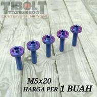 Probolt Titanium m5x20 bolts