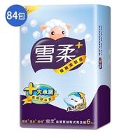雪柔 抽取衛生紙90抽84包(箱)【愛買】