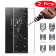 2 Pieces HOPELF Screen Protector for Sony Xperia XZ1 Compact Glass Tempered 9H 2.5D for Sony Xperia