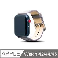 Alto Apple Watch 皮革錶帶 44/42mm - 礫石灰