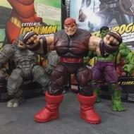 Legends Garage Kit Secondhand 3.75 ''X-Men-Juggernaut Unmasked Action Figure รูปที่สะสมของเล่นหลวมไม่มีกล่อง