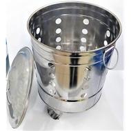 【東馬小舖】台灣製 430不鏽鋼 金爐 1尺 1尺1 1尺2 交換禮物 白鐵 金紙桶 燒金桶 燒金爐 燒金紙 拜拜
