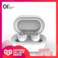 OI TidyBuds True Wireless Earbuds Wireless Earbuds Bluetooth Earbuds 5.0 8Hours Playback Touch Sensor Rechargeable Sweatproof--White