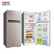 SANLUX 台灣三洋 SR-C480BV1A 雙門冰箱 480L 冷藏室電子式閥門控溫 隱藏式把手 ECO全智慧記憶節能模式