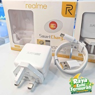 🇲🇾👍Realme Oppo Super VOOC Smart Charger (TYPE C) 65W Fast Quick Charge