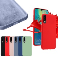 Silicone Phone Colorful Case For Huawei Honor 20 20s 9X 8 8A 8X 9 V9 9 9i 10 V10 V20 Pro Lite Play Magic 2 Y7 Y6 Y9 Prime 2019 2018 Ultra-Thin Liquid TPU Soft Shockproof Back Cover Cases