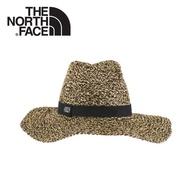 【The North Face 遮陽草帽《黑》】CGW9/防晒帽/圓盤帽/透氣耐磨/海邊/休閒/悠遊山水