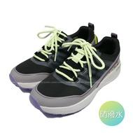 (B5)SKECHERS 女鞋 GO TRAIL 越野鞋 3M防潑水 運動鞋 耐磨橡膠底 128067BKMT 黑紫【陽光樂活】