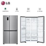 【 LG 樂金 】WiFi門中門對開 電冰箱《GR-DL88SV》821L 星辰銀 壓縮機十年保固*含運配送基本安裝*舊機回收服務