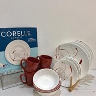 16 pcs CORELLE Dinnerware Set