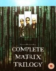 一手自售藍光BD,基努里維《駭客任務三部曲 Complete Matrix Trilogy》英版,無中文字幕