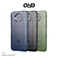 【愛瘋潮】免運  保護套 QinD Redmi Note 9T/Note 9 5G 戰術護盾保護套 TPU 手機殼 鏡頭加高 軟殼 保護殼 保護套 防摔殼