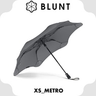 【BLUNT 紐西蘭 XS_METRO UV自動折傘《紳士灰》】BLT-X01/摺疊傘/自動傘/雨傘/晴雨傘