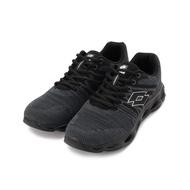 LOTTO SUPER LITE 輕量風動編織跑鞋 黑 LT0520 男鞋 鞋全家福