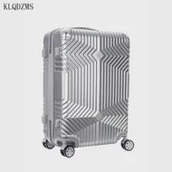 KLQDZMS 20''24''28inch PCน่ารักกระเป๋าเดินทางที่มีล้อรถเข็นABSกระเป๋าเดินทางใหม่ส่วนบุคคลกล่องกระเป๋า