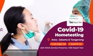 COVID-19 PCR and Antigen Home Testing by JBS Rapid Test Jakarta and Tangerang