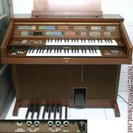 【田新中古琴行】日本製YAMAHA山葉Electone雙層電子琴FS-30電管風琴(9千8直購)附說明書FS-70雙排鍵