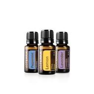 doTERRA(多特瑞)🌺檸檬精油15ml+薄荷精油15ml+薰衣草精油15ml組合🌺