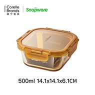 Corning Snapware glass preservation box microwave oven heated lunch box office workers seal fruit bo