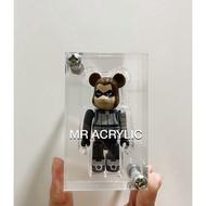 [READY STOCK] Bearbrick Acrylic Display Case 100%