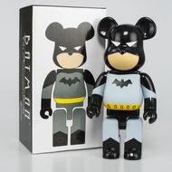 400 % Bearbrick Marvel Trendy Bearbrick Batman Toy Kid Gift Action Figure