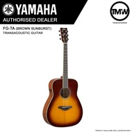 PRE-ORDER (Dec/Jan) Yamaha FG-TA (Brown Sunburst) TransAcoustic Guitar - FGTA Traditional western body - FG TA Solid spruce top Trans Acoustic Mahogany back & sides - Absolute Piano - The Music Works Store GA1