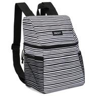 美國 PACKiT 冰酷 - 野餐冷藏後背包-經典黑白