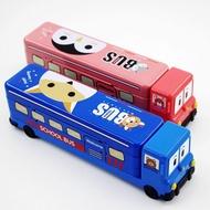 ➢➣現貨❤️立體大容量卡通鉛筆盒 小學生文具盒 可愛創意校巴 汽車造型兒童雙層鉛筆盒 收納盒 兒童禮物