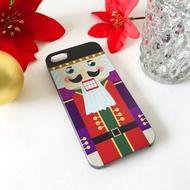 香港原創設計 聖誕系列 - 胡桃夾子圖案1 iPhone X, iPhone 8, iPhone 8 Plus, iPhone 7 case, iPhone 7 Plus case, iPhone 6/6S, iPhone 6/6S Plus, Samsung Galaxy Note 7 case, Note 5 case, S7 Edge case, S7 case