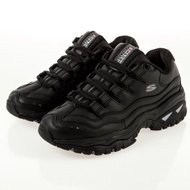 【RTG】 SKECHERS ENERGY 全黑 老爹鞋 休閒 皮革 盾牌 復古 小甜甜 微增高 女鞋 2250BBK