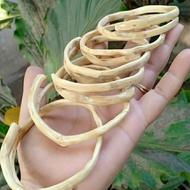 gelang akar Bahar putih original