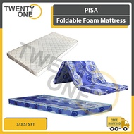PISA Foldable Foam Mattress / Foam Mattress