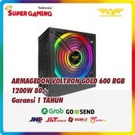 Psu Armaggeddon Voltron 600 Rgb 1200w Gaming Power Supply
