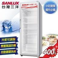 SANLUX台灣三洋 400L直立式冷藏櫃 SRM-400RA 原廠配送+基本定位安裝