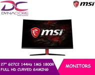 MSI 27 G27C2 144Hz 1MS 1800R FULL HD CURVED GAMING MONITOR(3YRS)