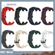 FanicasSilicone Watch Strap Band Replace for Huami Amazfit T-Rex Pro/Amazfit T-Rex