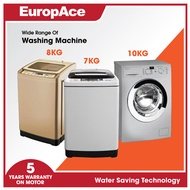 *Online Special* EuropAce 7.5KG Top Load Washer - Honeycomb Drum
