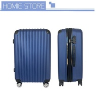 กระเป๋าเดินทาง กระเป๋าเดินทางล็อกรหัส กระเป๋าเดินทางกันน้ำ กระเป๋าเดินทางล้อลาก ขนาด 24 นิ้ว ABS+PC