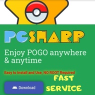 """[READY STOCK] 👍🔥 PGSharp License Key POKEMON GO SPOOF and FLY NO ROOT and log in with Facebook """"ONLY ANDR"""